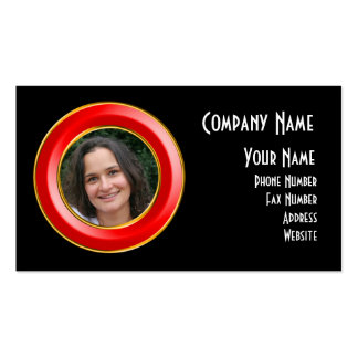 Porthole Picture Frame Business Card