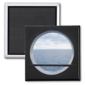 Porthole View Magnet