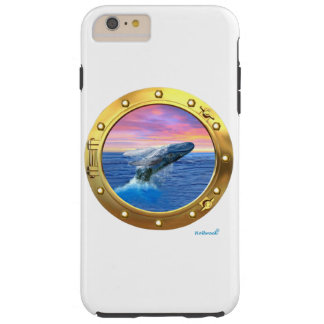 Porthole View of a Breaching Whale Tough iPhone 6 Plus Case