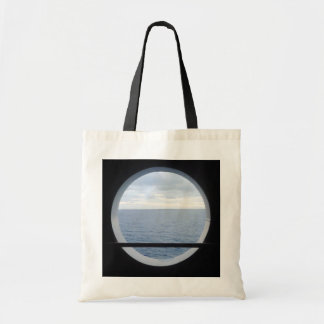 Porthole View Simple Tote Bag