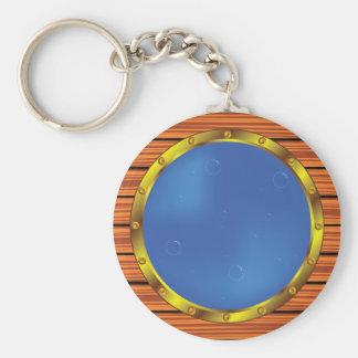 Porthole Window Keychain