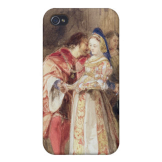 Portia and Bassanio, c.1826 (w/c, brown ink, bodyc iPhone 4 Covers