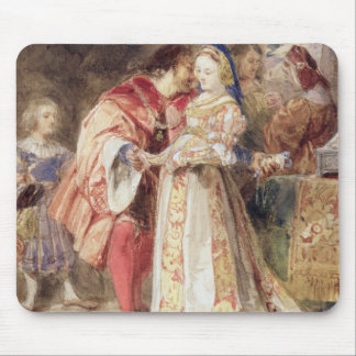 Portia and Bassanio, c.1826 (w/c, brown ink, bodyc Mouse Pad