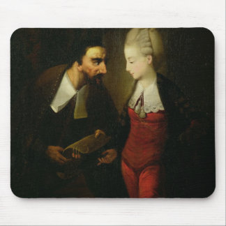 Portia and Shylock from 'The Merchant of Venice' A Mouse Pad