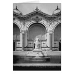 Portico and fountain at the Universal Greeting Card