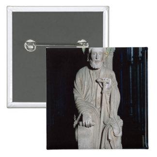 Portico de la Gloria depicting St James Pinback Button