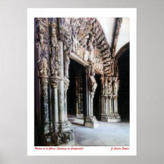 Pórtico de la Gloria (Santiago de Compostela) Póster