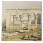 """Pórtico del templo de Kalabshah, de """"Egipto Azulejo Cuadrado Grande"""