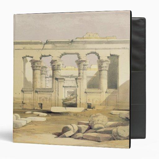 """Pórtico del templo de Kalabshah, de """"Egipto"""