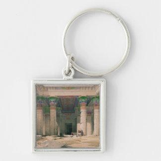 Pórtico magnífico del templo de Philae, Nubia Llavero