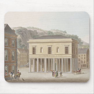 Portico of the Fountain of Pouhon at Spa, from 'Ch Mouse Pad