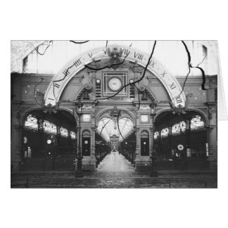 Portico of the Horology Pavilion Card