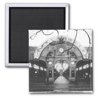 Portico of the Horology Pavilion Magnet
