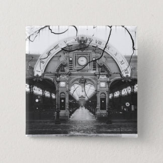 Portico of the Horology Pavilion Pinback Button