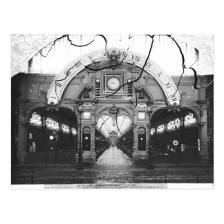 Portico of the Horology Pavilion Postcard