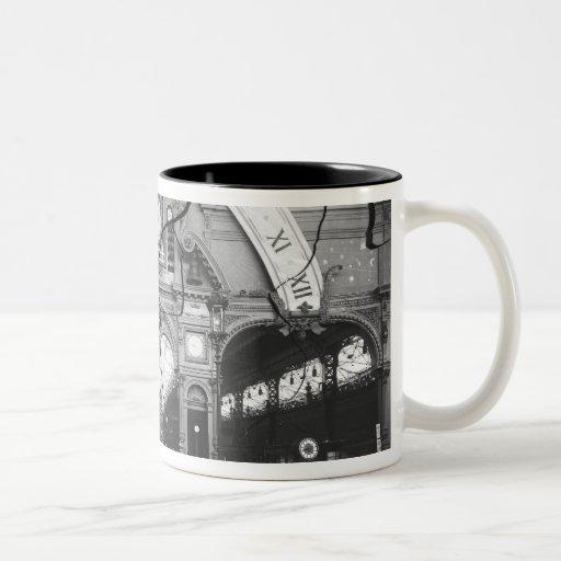 Portico of the Horology Pavilion Two-Tone Coffee Mug