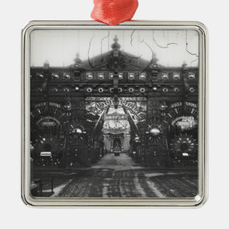 Portico of the Metallurgy Pavilion Metal Ornament