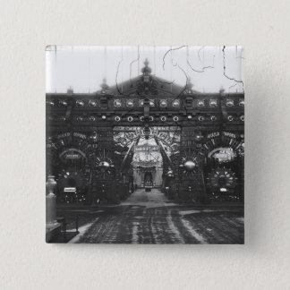 Portico of the Metallurgy Pavilion Pinback Button