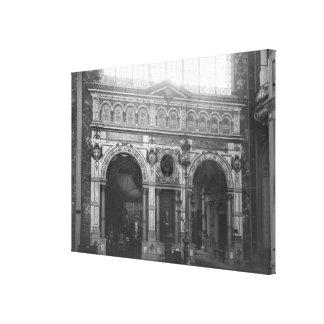 Portico of the Silversmith Pavilion Canvas Print