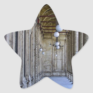 Portico of the Sultan Ali mosque in Cairo Star Sticker