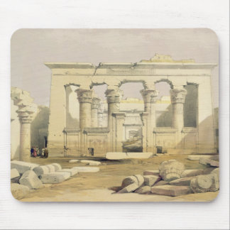 """Portico of the Temple of Kalabshah, from """"Egypt an Mouse Pad"""