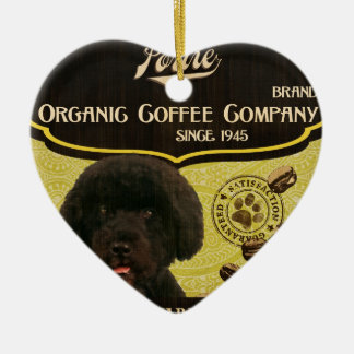 Portie Brand – Organic Coffee Company Ceramic Ornament
