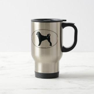 Portie Silhouette 15 Oz Stainless Steel Travel Mug
