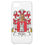 Portier Family Crest iPhone 5C Cover