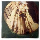 Portilla de escape submarino azulejo ceramica
