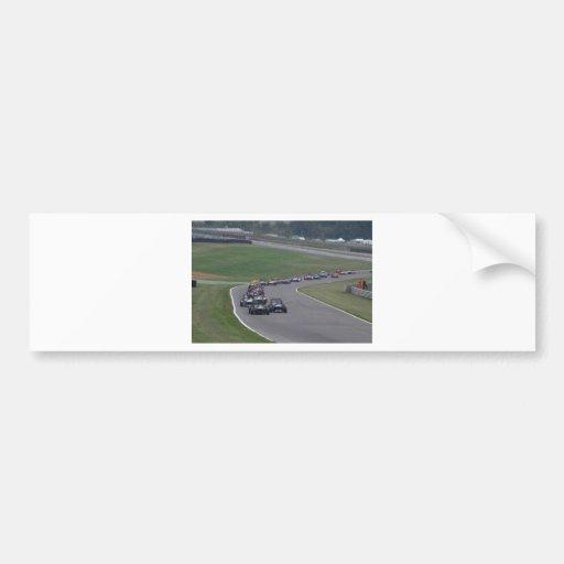 Portilla de las marcas pegatina para auto