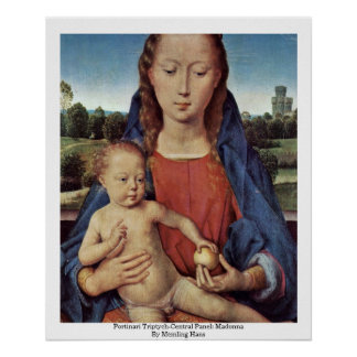 Portinari Triptych-Central Panel: Madonna Posters