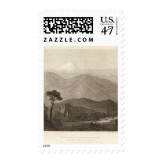 Portion, main mountain passage postage