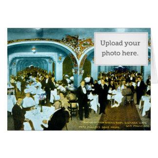 Portion of Main Dining Room, Bismarck Cafe. Fritz Card