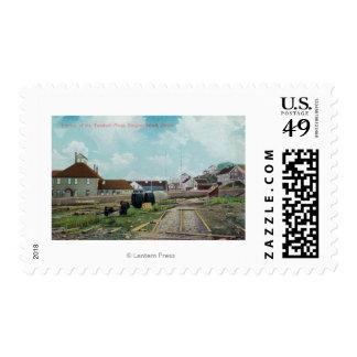 Portion of Treadwell MinesDouglass Island, AK Postage