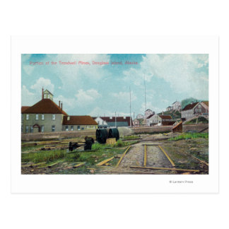 Portion of Treadwell MinesDouglass Island, AK Postcard