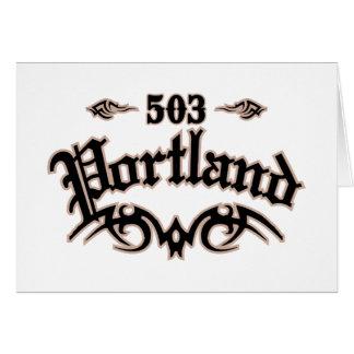 Portland 503 felicitacion