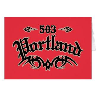 Portland 503 tarjeta