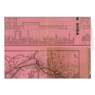 Portland and Ogdensburg Railroad and connections Cards