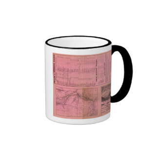 Portland and Ogdensburg Railroad and connections Coffee Mug