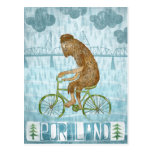 Portland Bigfoot Postcard