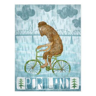 Portland Bigfoot Tarjetas Postales
