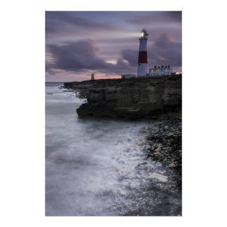 Portland Bill All Lit Up Poster