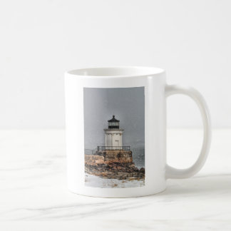 Portland Breakwater / Bug Light Coffee Mug