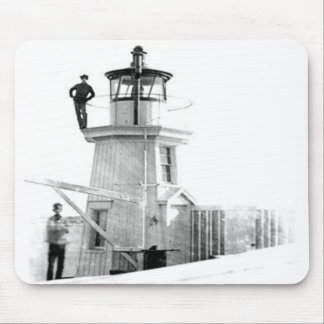 Portland Breakwater Lighthouse 2 Mouse Pad