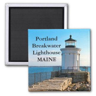 Portland Breakwater Lighthouse, Maine Magnet