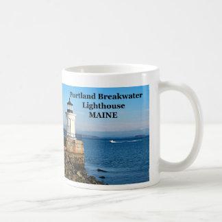 Portland Breakwater Lighthouse, Maine Mug