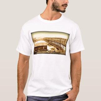 Portland Bridge Antique 1890 T-Shirt