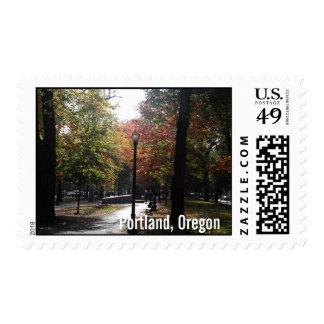 Portland céntrica, fuente de alimentación sello postal
