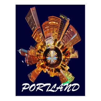 PORTLAND CITY POSTCARD