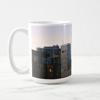 Portland City Skyline at Dusk Coffee Mug